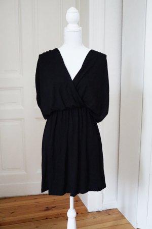 Kleid in Wickeloptik ASOS Baumwolle tiefer Rückenausschnitt 36 S