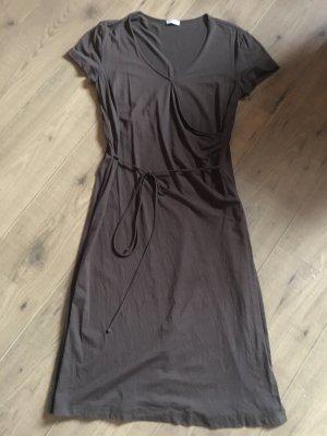 Kleid in Wickeloptik