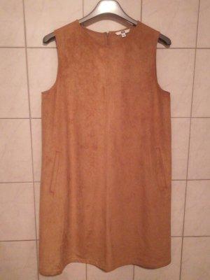 Kleid in Wildleder-Optik