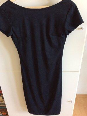 Kleid in Wildlederoptik NEU, schwarz Gr. S/XS