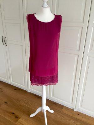 Kleid Intimissimi M pink grau Spitze
