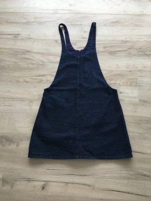 Zara Trafaluc Denim Dress dark blue cotton