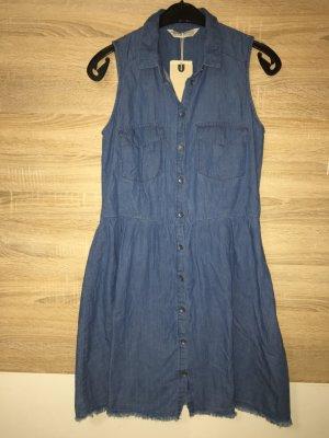 Kleid Jeans Jeanskleid Gr 36 neu blau