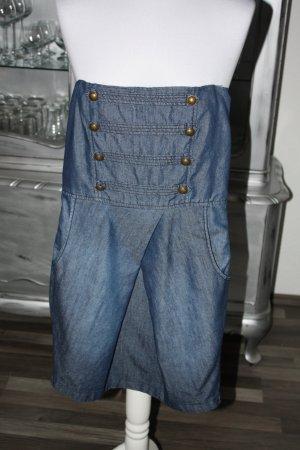KLeid Jeanskleid blau 34 Minikleid Bandeaukleid AMISU