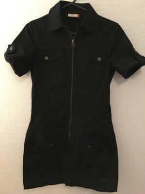 Kleid Jeanskleid schwarz Minikleid sexy Gr. S