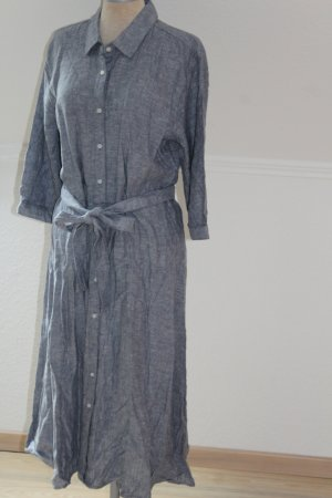 Denim Dress multicolored linen