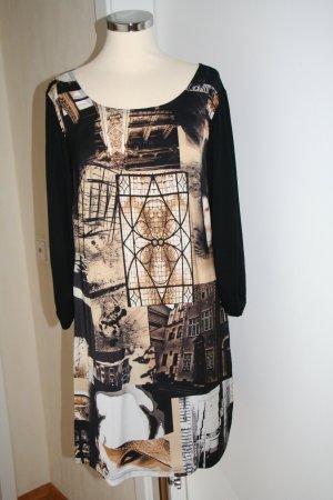 Kleid, Jerseykleid, Shirtkleid, Druckkleid von Steilmann