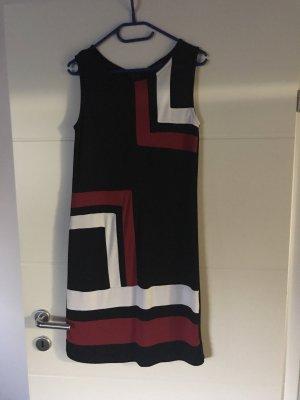 100 Robe mi-longue multicolore