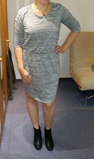 Kleid Junarosa by Vero Moda, grau mit Reisverschluss Gr. 42 / XL NEU Büro
