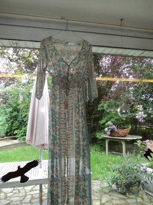"Kleid, Kaftan, Strandkleid mit floralem Muster von ""Vicabo"" in Gr. L"