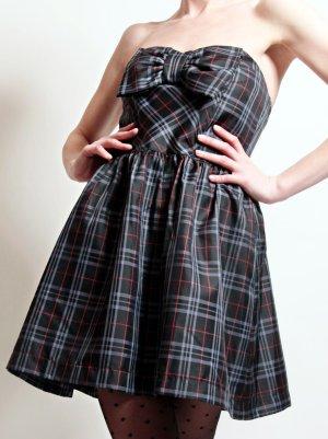 Kleid kariert mit Schleife von QED LONDON