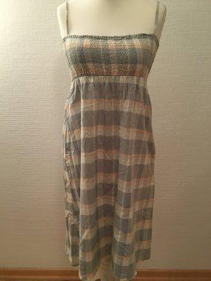 Kleid kariert Sommerkleid Pastellfarben TOP