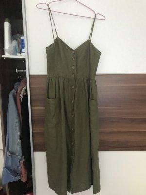 Kleid Khaki Mango