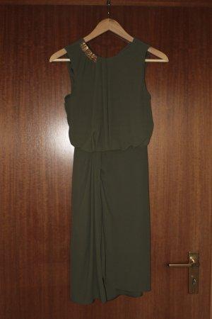Kleid khaki olive ärmellos von ASOS
