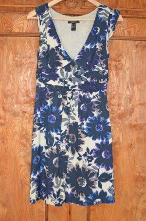 Mango Midi Dress multicolored viscose