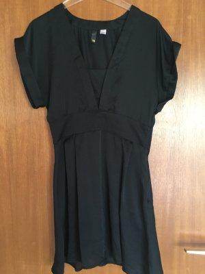 Kleid Kleidchen schwarz Basic leicht Gr. 38