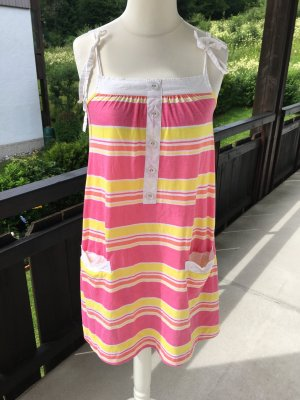 Kleid Kleidchen süß Sommerkleid bunt gestreift Gr. M