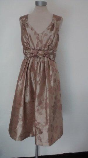Kleid knielang Gr. S 36 38 handarbeit! retro