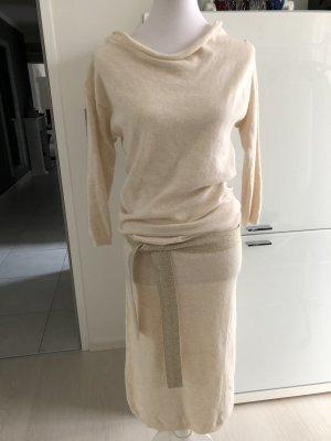 Kleid Kontatto Einheitsgrösse creme wollweiss
