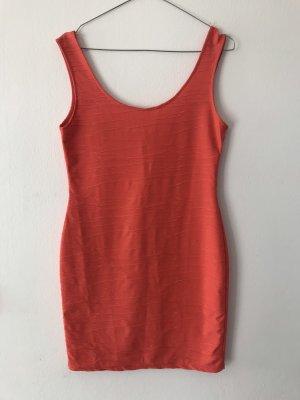 Kleid korall/rot