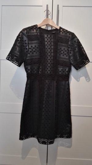 Kleid Kunstleder Zara