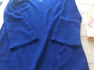 Kala Berlin Vestido tipo túnica azul oscuro