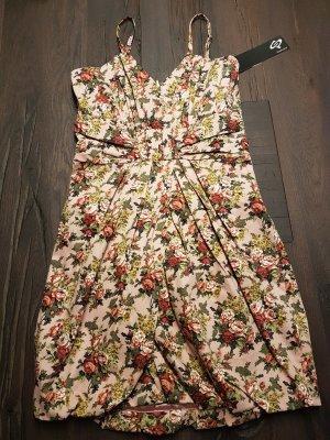 Kleid Kurz Blumen S.