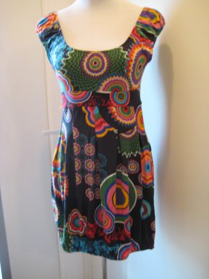 Hippie Dress multicolored viscose