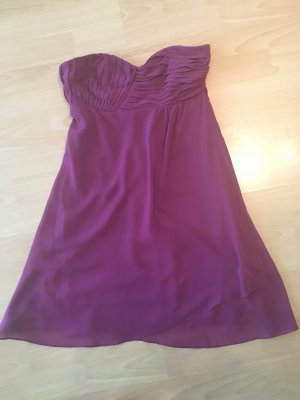 #Kleid#kurz#lila#schulterfrei#sexy#Laura Scott