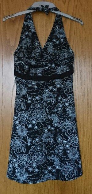 Kleid, kurz, schwarz weiß, Gr. 38