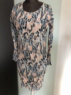 Kleid LA Wickel Look Gr 36 38 S von Ichi Neu mit Etikett