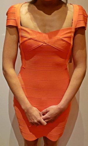 Kleid lachsfarben von Corizzi