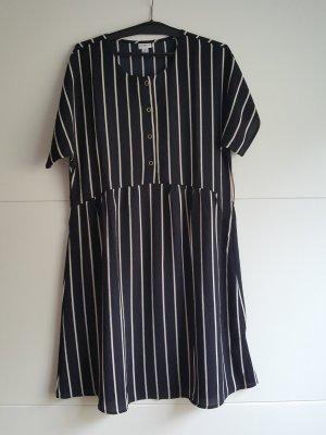 Kleid längs gestreift NEU