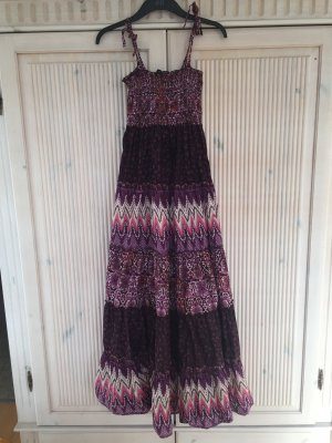 Amisu Hippie Dress multicolored