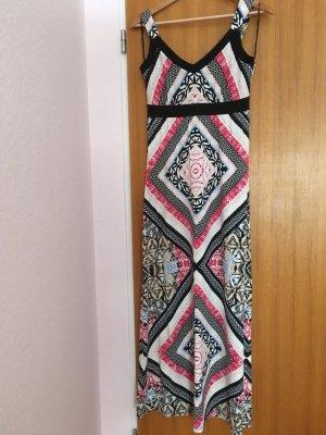 Kleid lang bunt hervorragender Zustand, Marke Comma, Größe 34
