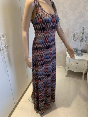 Stretch jurk veelkleurig