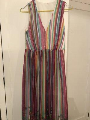 Kleid lang in bunten Farben