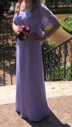 Kleid, lang, lila