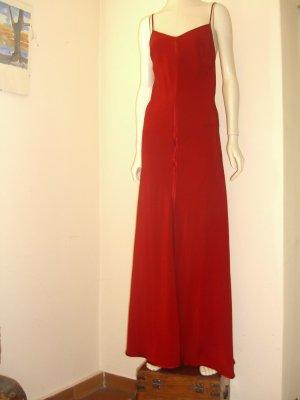 Plein sud Maxi abito rosso mattone Viscosa