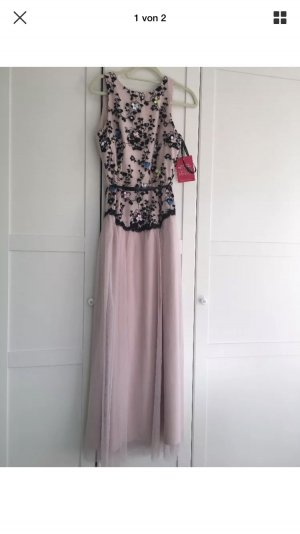 Kleid lang Tüll elegant Hochzeit Gr. 40 neu