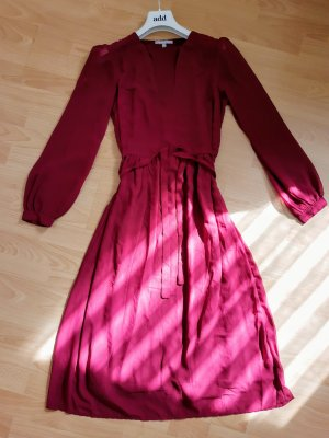 3 Suisses Longsleeve Dress brown red-carmine synthetic