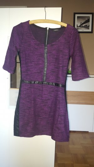 Motivi Sweater Dress dark violet