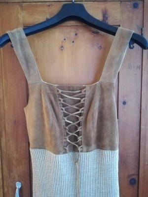 gössl Pencil Dress camel leather