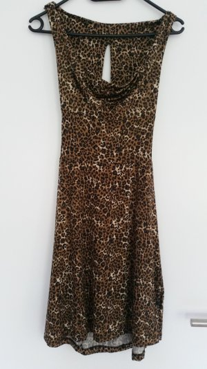 Kleid leopard print