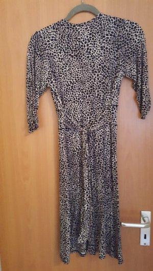 Kleid Leoparden Print Gr.  M