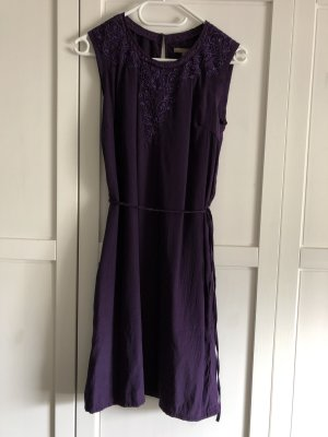 Mint&berry Midi Dress dark violet polyester