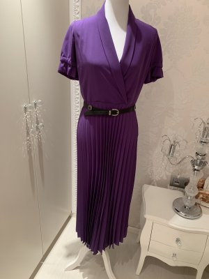 Kleid Lila gr 38 neuwertig mit Gürtel
