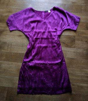 Kleid lila NEU Rückseite mit Gummibund 38