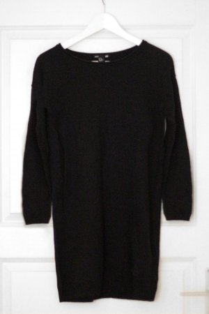 Kleid / Long Top / Schwarz / Basic / H&M