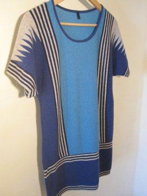 Kleid Longpullover von Benetton in tollem Farbmix